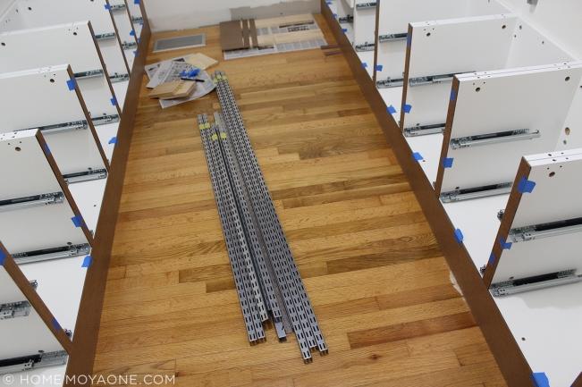 homemoyaone_master-closet-bases-with-ikea-frames_hardboard-trim