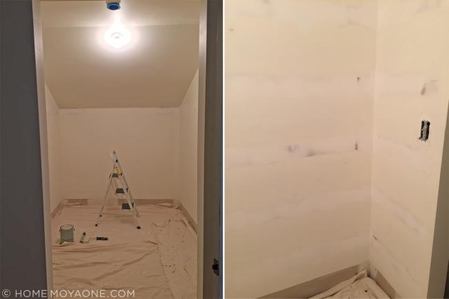 homemoyaone_master-closet-drywall-progress2